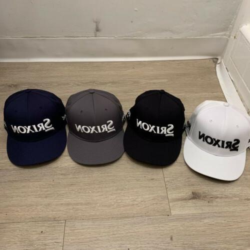 golf srixon tour fitted stretch hat xl