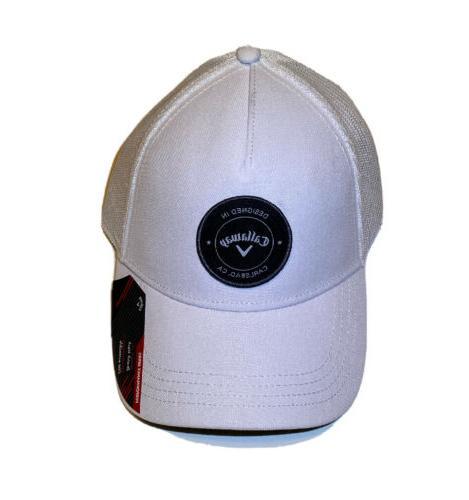 golf trucker snapback adjustable mesh hat cap