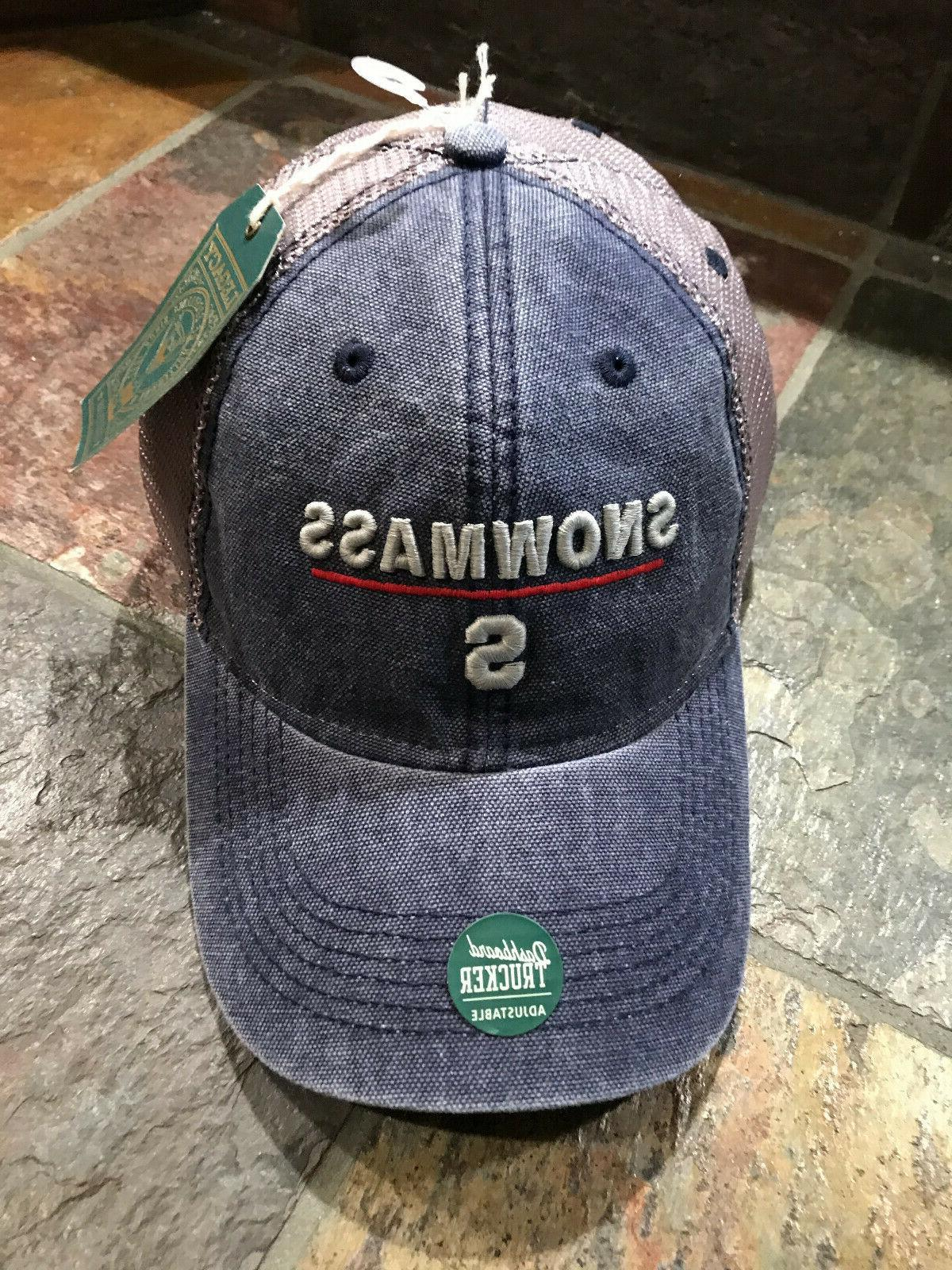 hat cap snowmass colorado relaxed navy vintage