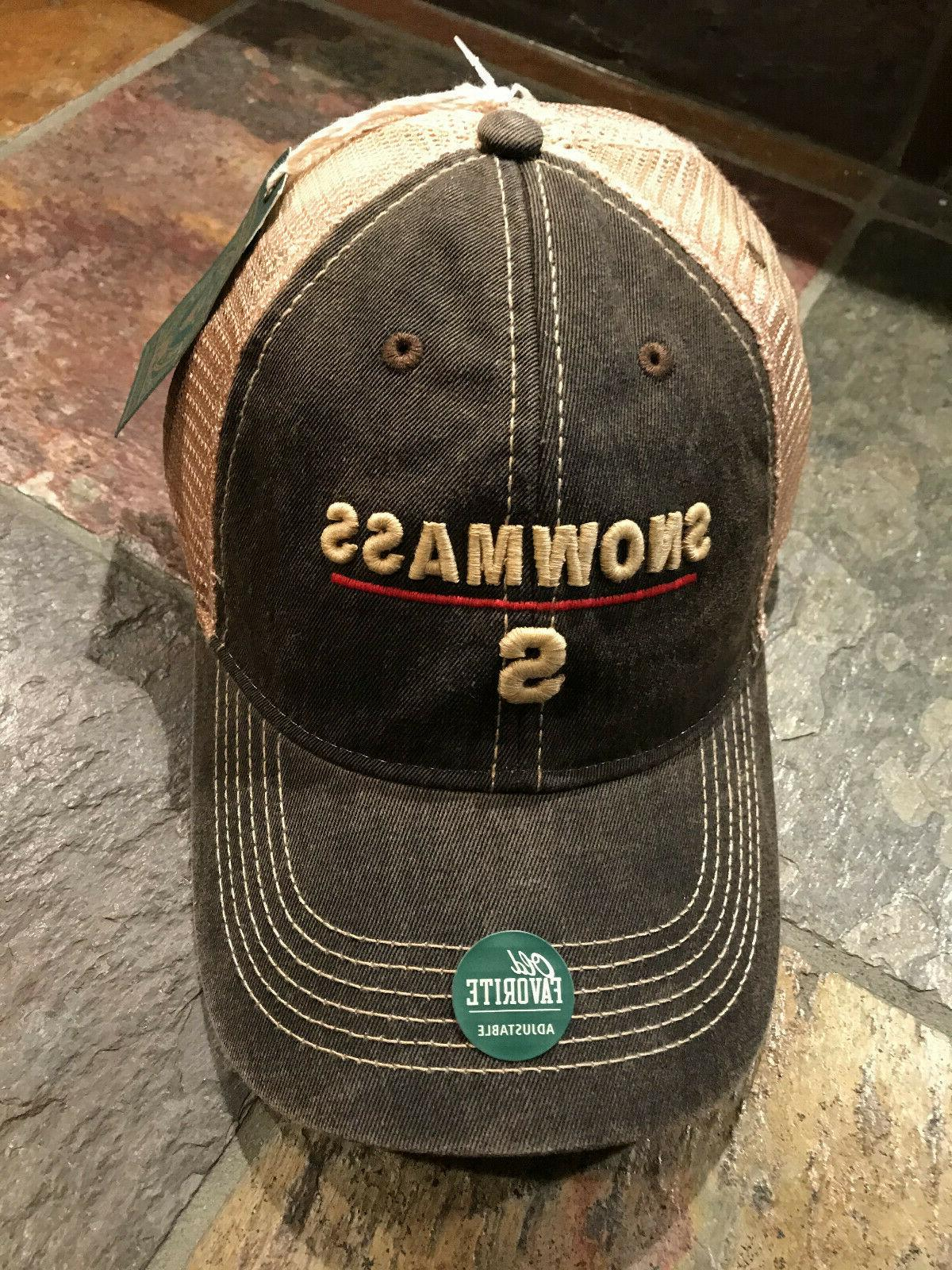 hat cap snowmass colorado relaxed vintage twill