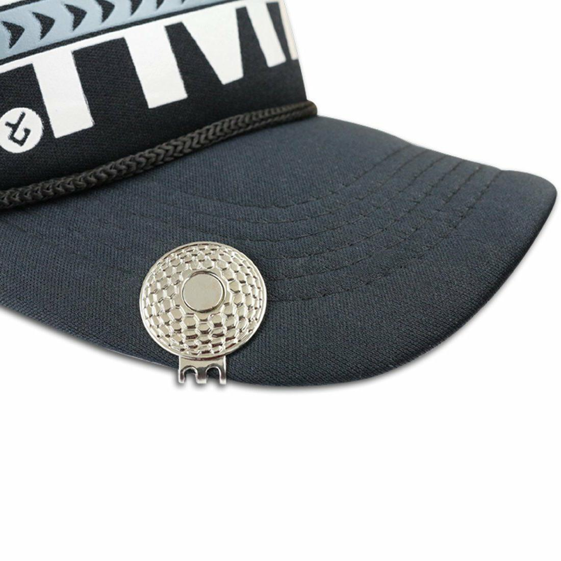 Magnetic Golf Hat Attaches to Belt