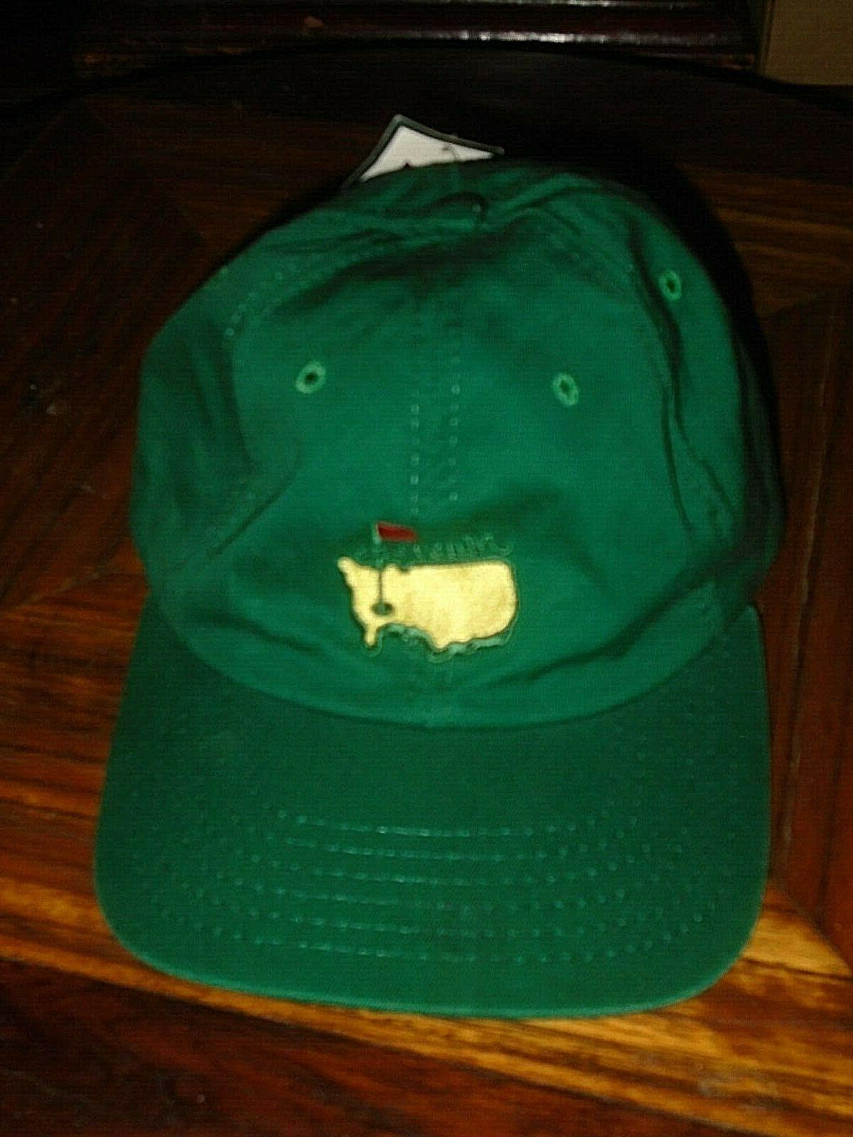 masters pga golf adjustable hat augusta national