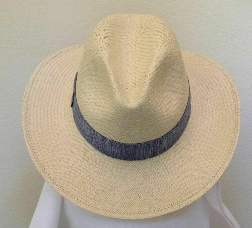 SCALA HAT * 1 * NEW SAFARI STRAW SUN SHADY