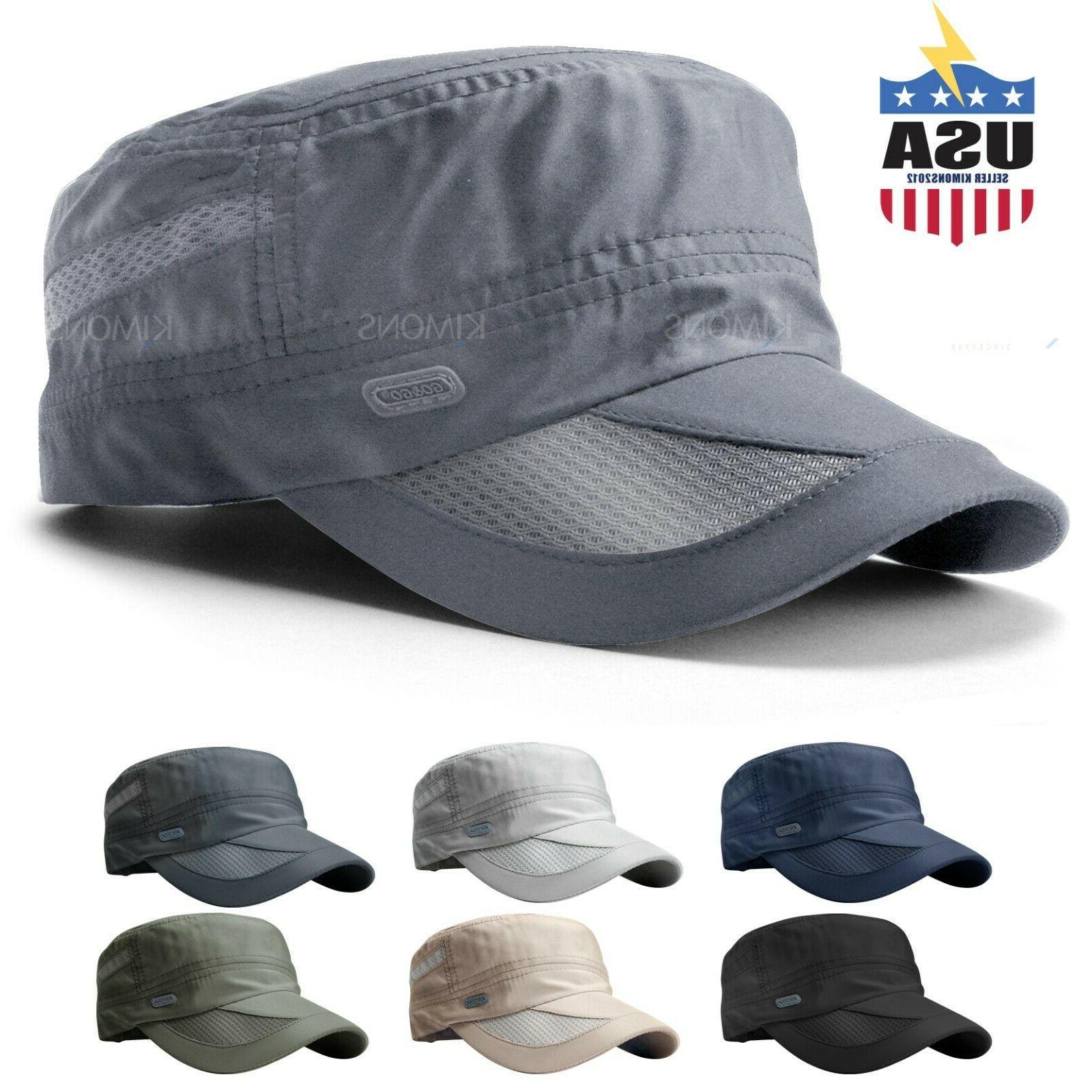men s classic army summer military cap