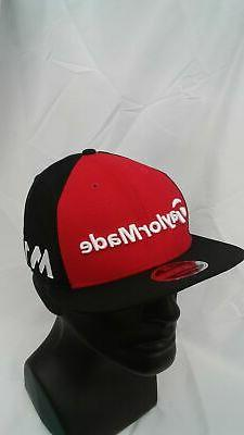 Men's TaylorMade Golf Tour 9Fifty New Era Snapback Cap Red/B