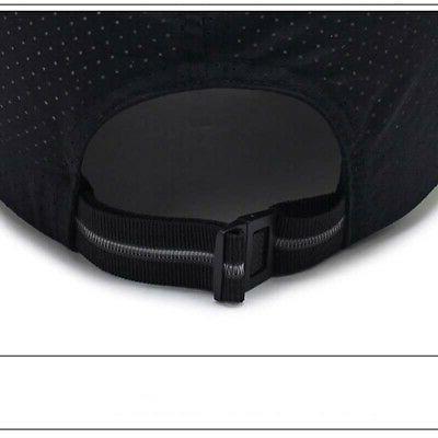 Men Women Summer Mesh Hat Curved Visor Cap