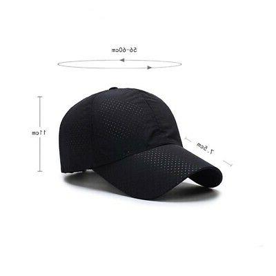Men Golf Mesh Hat Curved Casual Baseball Cap