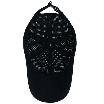 Men Women Mesh Hat Breathable Curved Visor Cap