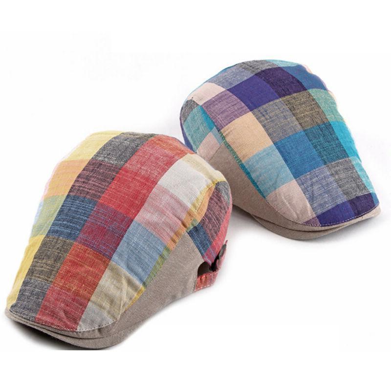 Mens Boy Herringbone Golf Ivy Hats