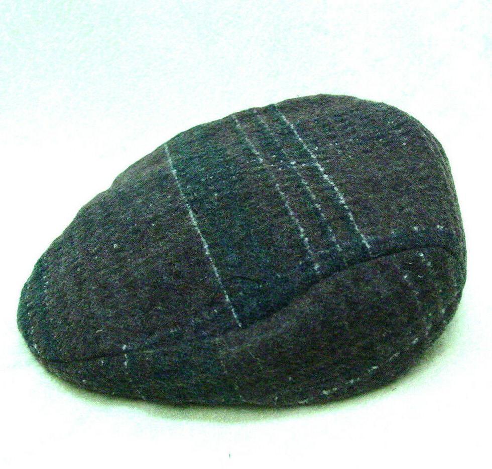 mens brown wool plaid ivy golfing duck