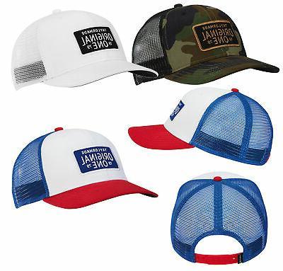 mens lifestyle original one trucker hat golf