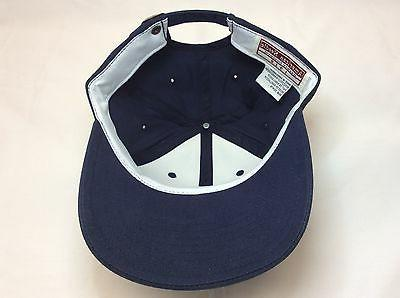 *NEW STRUCTURED HAT- NAVY BY