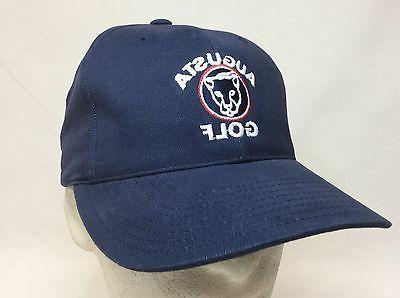 new augusta structured golf hat navy tailored