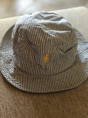 new bucket golf rain hat seersucker cotton