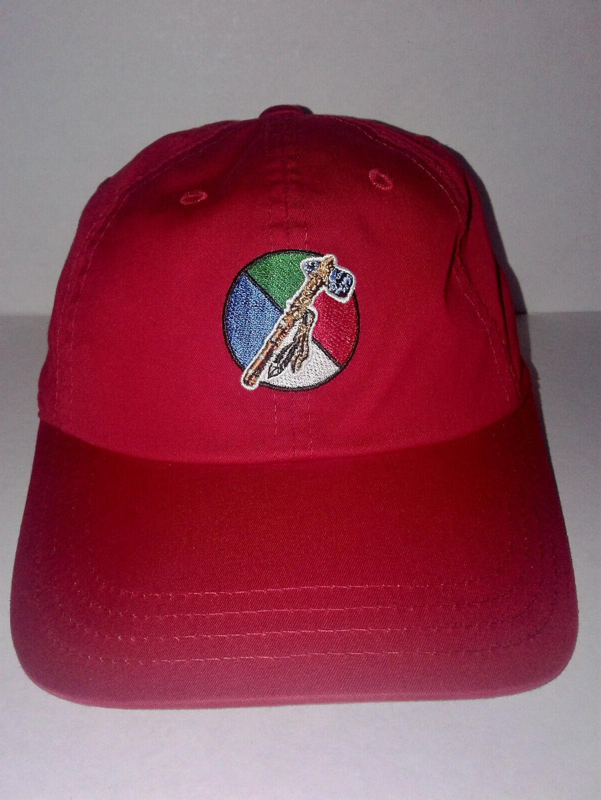 NEW! CHEROKEE GOLF COURSE RED HAT