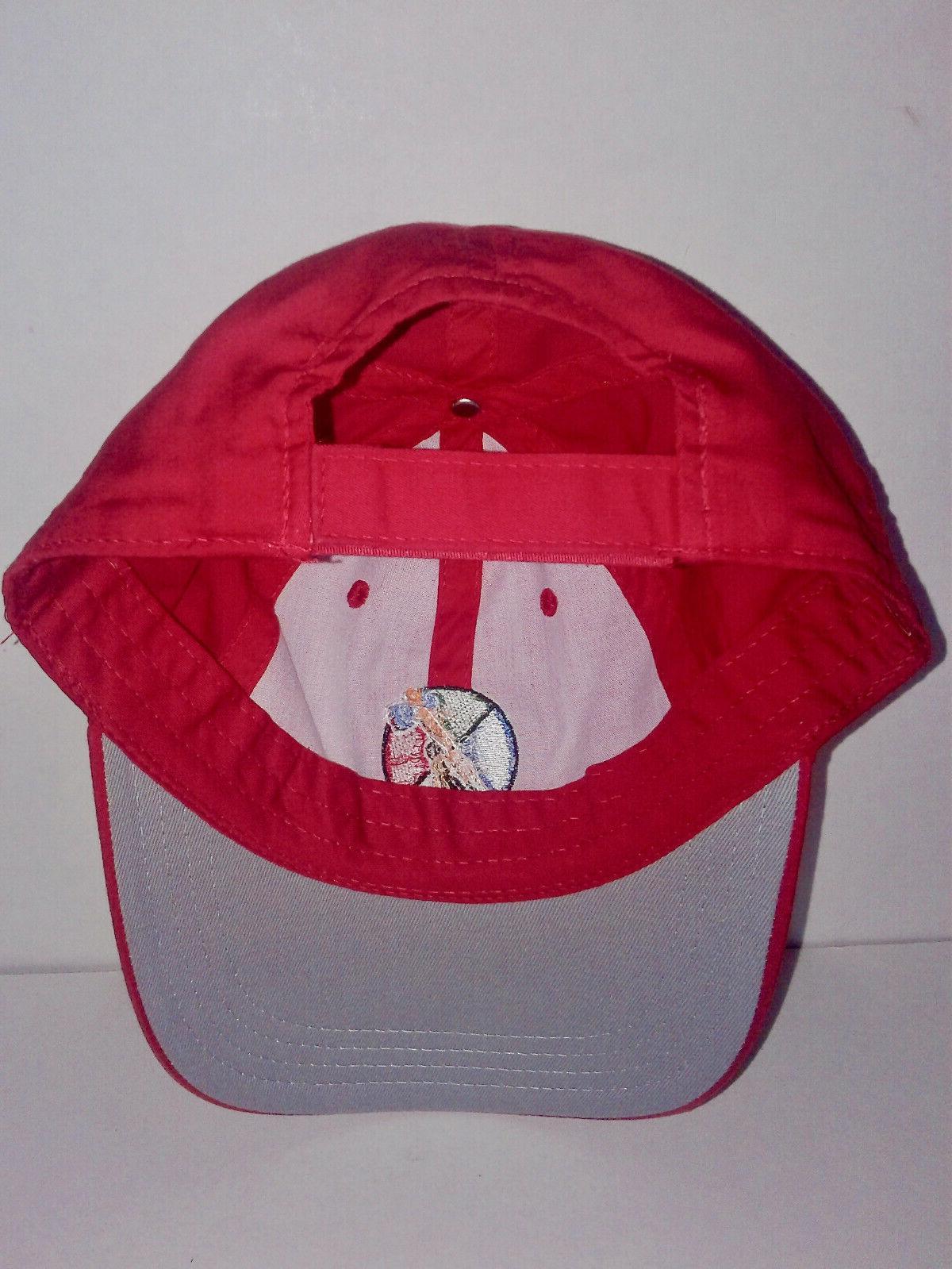 NEW! CHEROKEE GOLF COURSE NEEDLE RED CAP