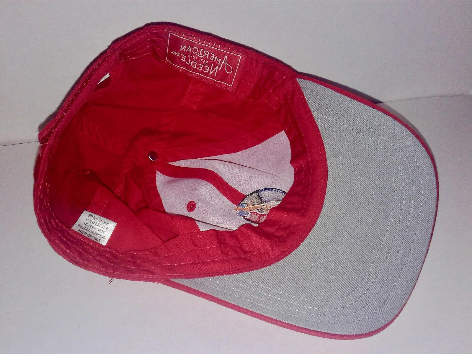 NEW! CHEROKEE COUNTRY GOLF COURSE RED BASEBALL HAT