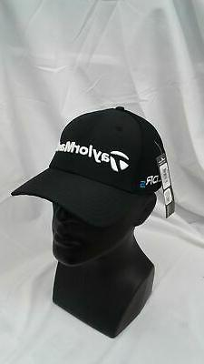 New Taylormade Golf 2014 Tour Cage Black Fitted Hat S/M SLDR