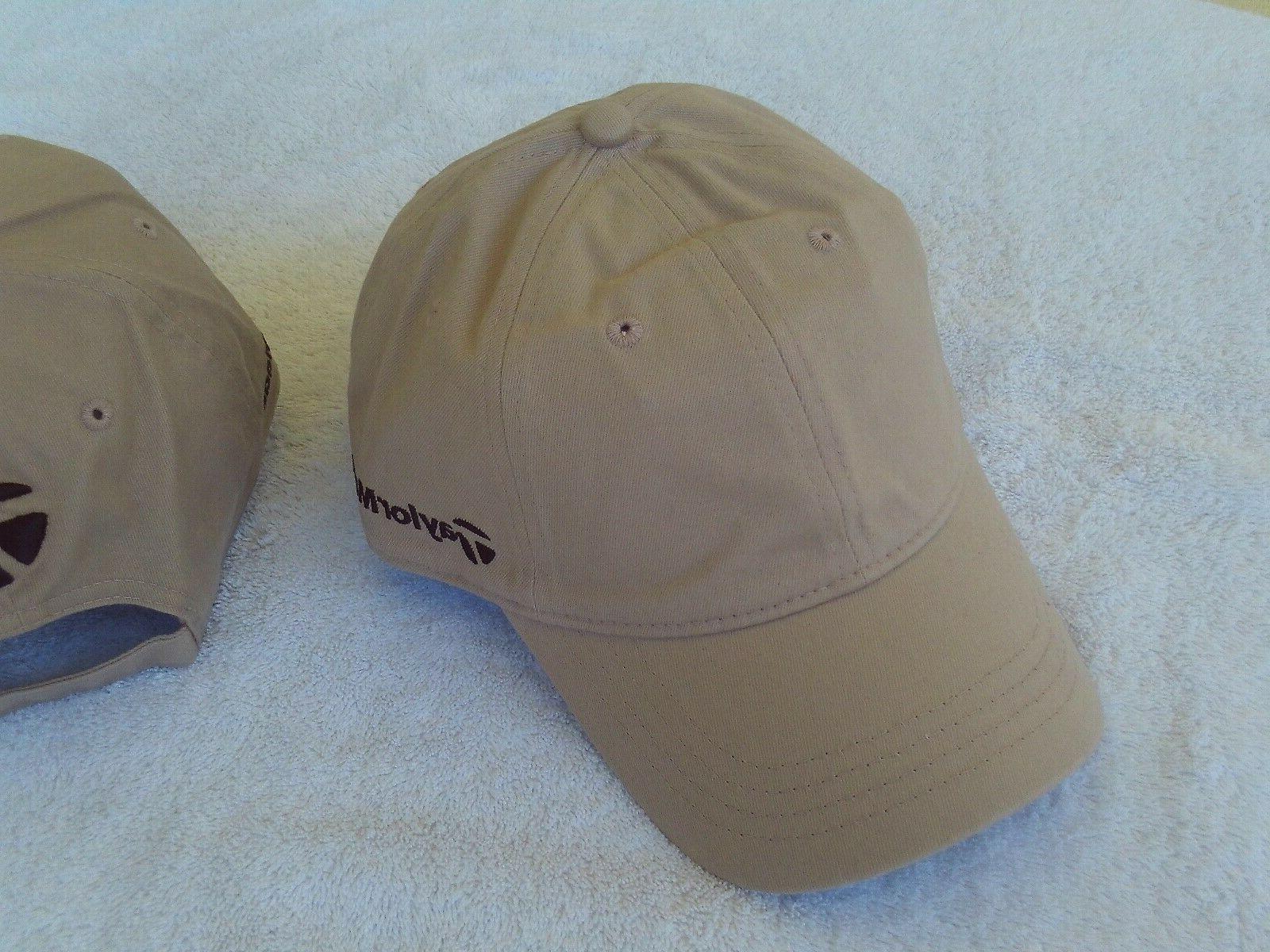 New TaylorMade Tour Style Hat Khaki Adjustable Club Head