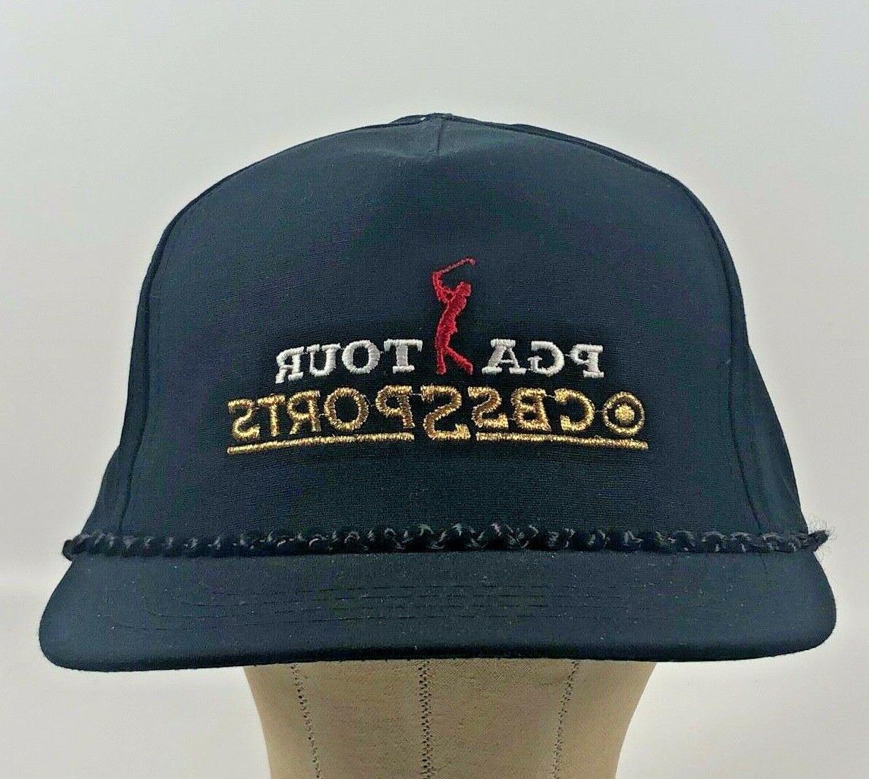 new vintage golf cbs sports hat cap