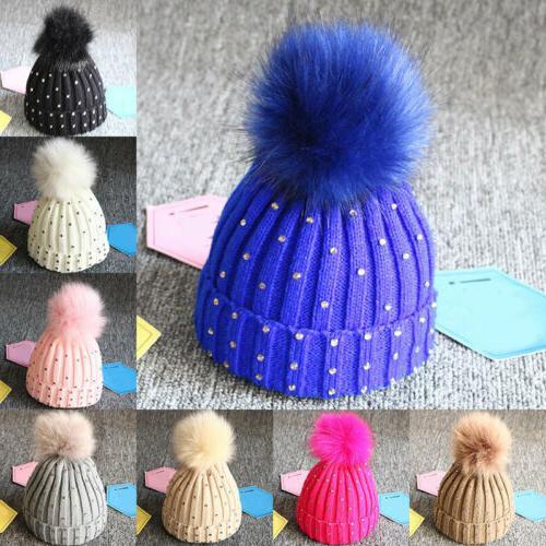Newborn Toddler Baby Crochet Knit Hat Cap
