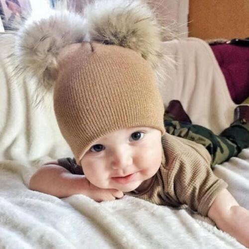 Baby Infant Crochet Knit Hat Beanie Cap