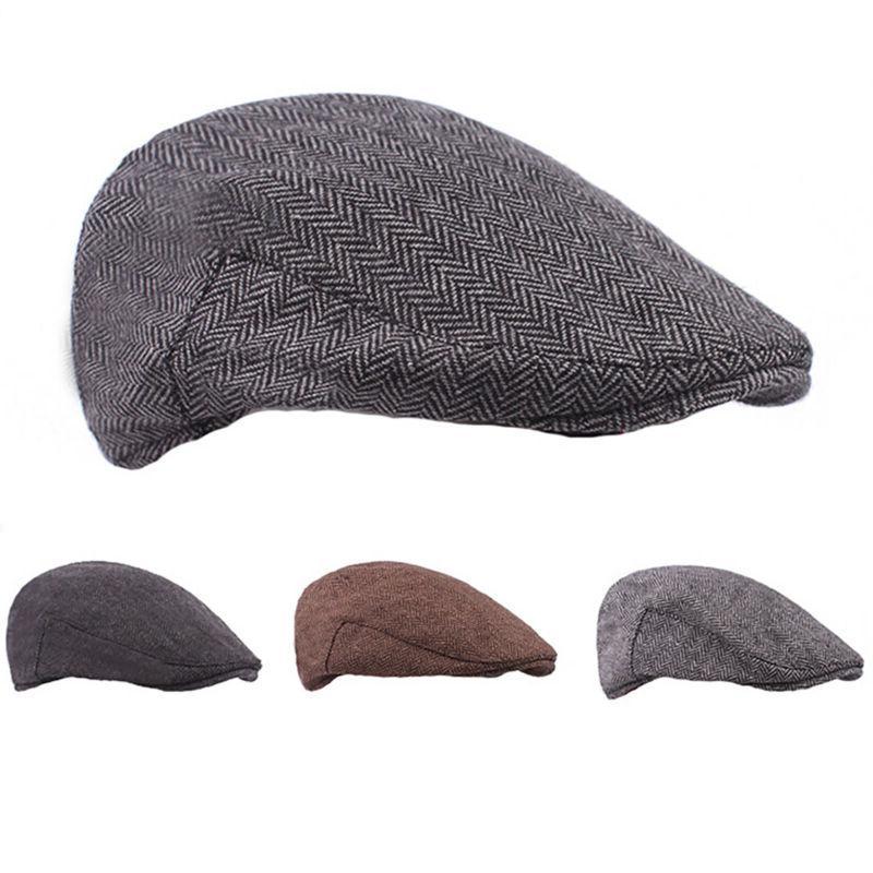 Herringbone Golf Cabbie Hats