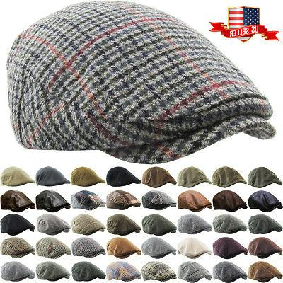newsboy ivy ascot cabbie hat cap plaid
