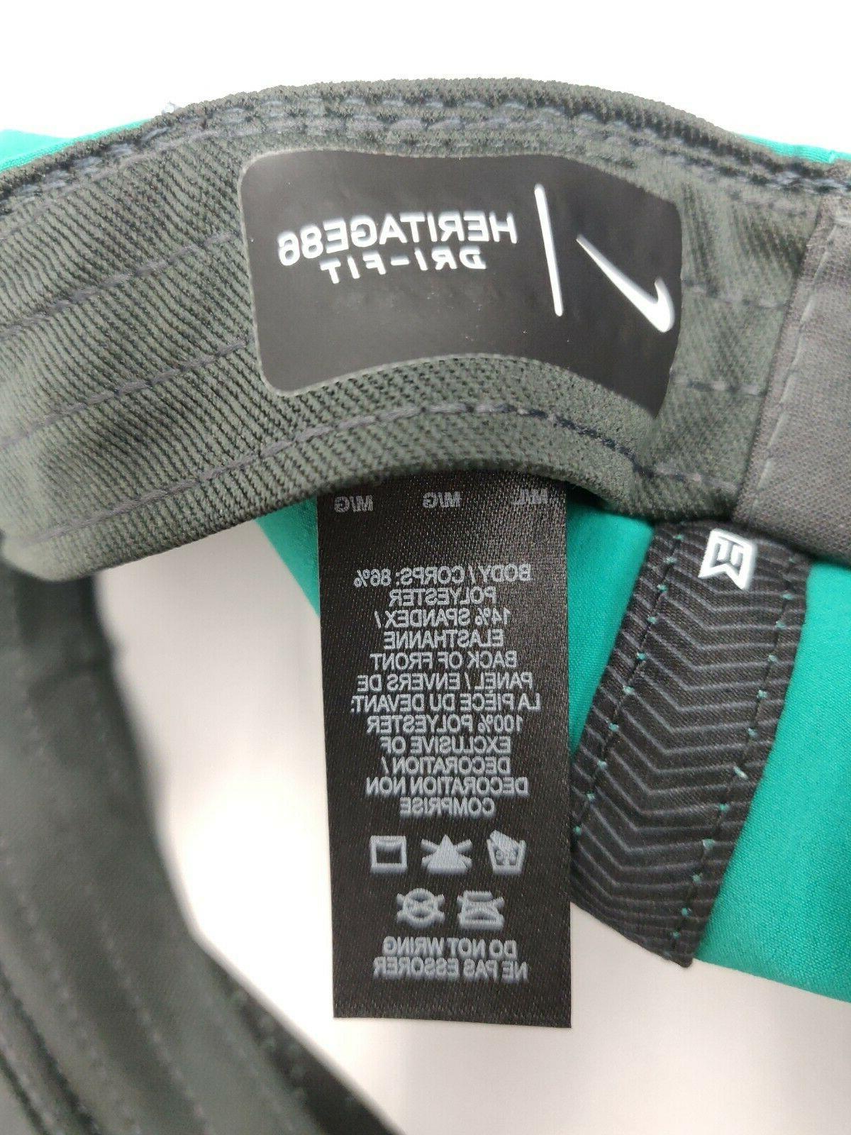 NWT Nike Woods Heritage Flex Cap Green