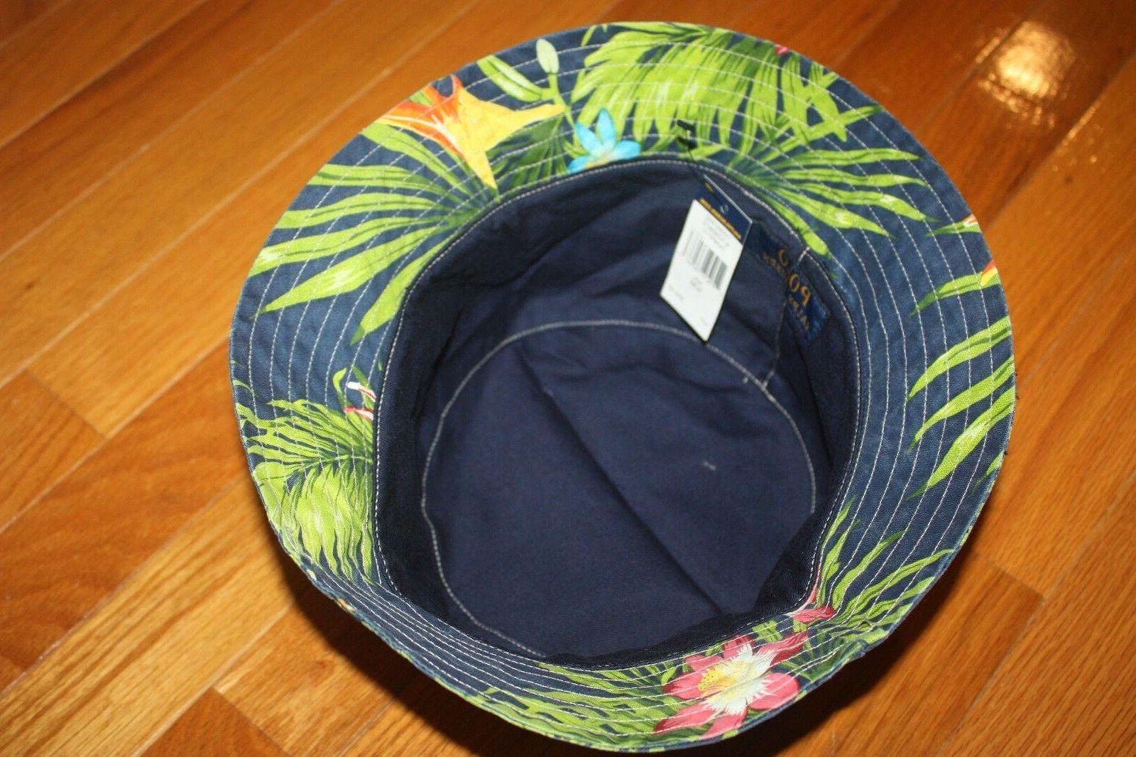 NWT Polo Ralph Floral Fishing Hat FREE