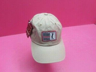 olympia fields golf club hat khaki unstructured