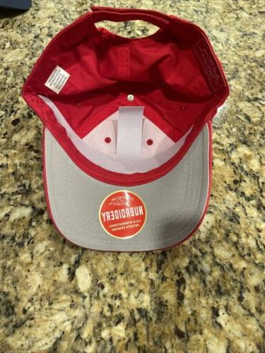 PEACHTREE CLUB Needle Hat - Red- Members Only