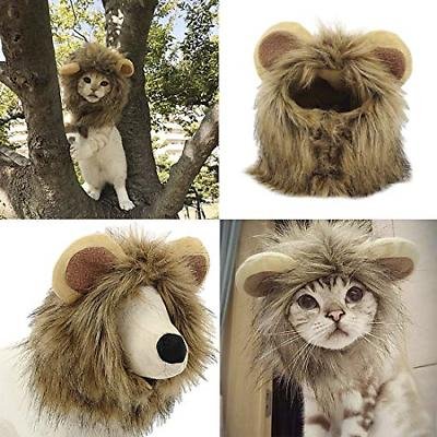 YAWALL Pet Lion Mane Cap Hat Xmas