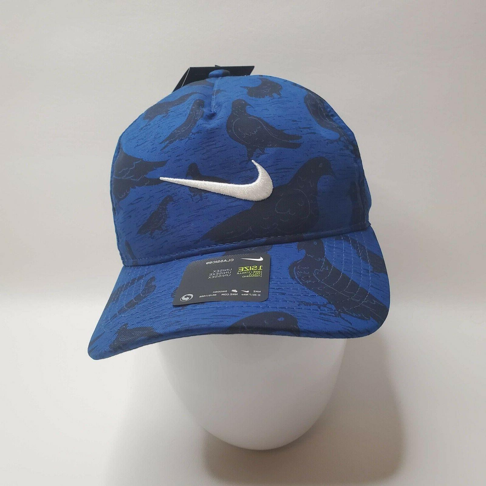 RARE Golf Print Hat Cap BQ1300 438