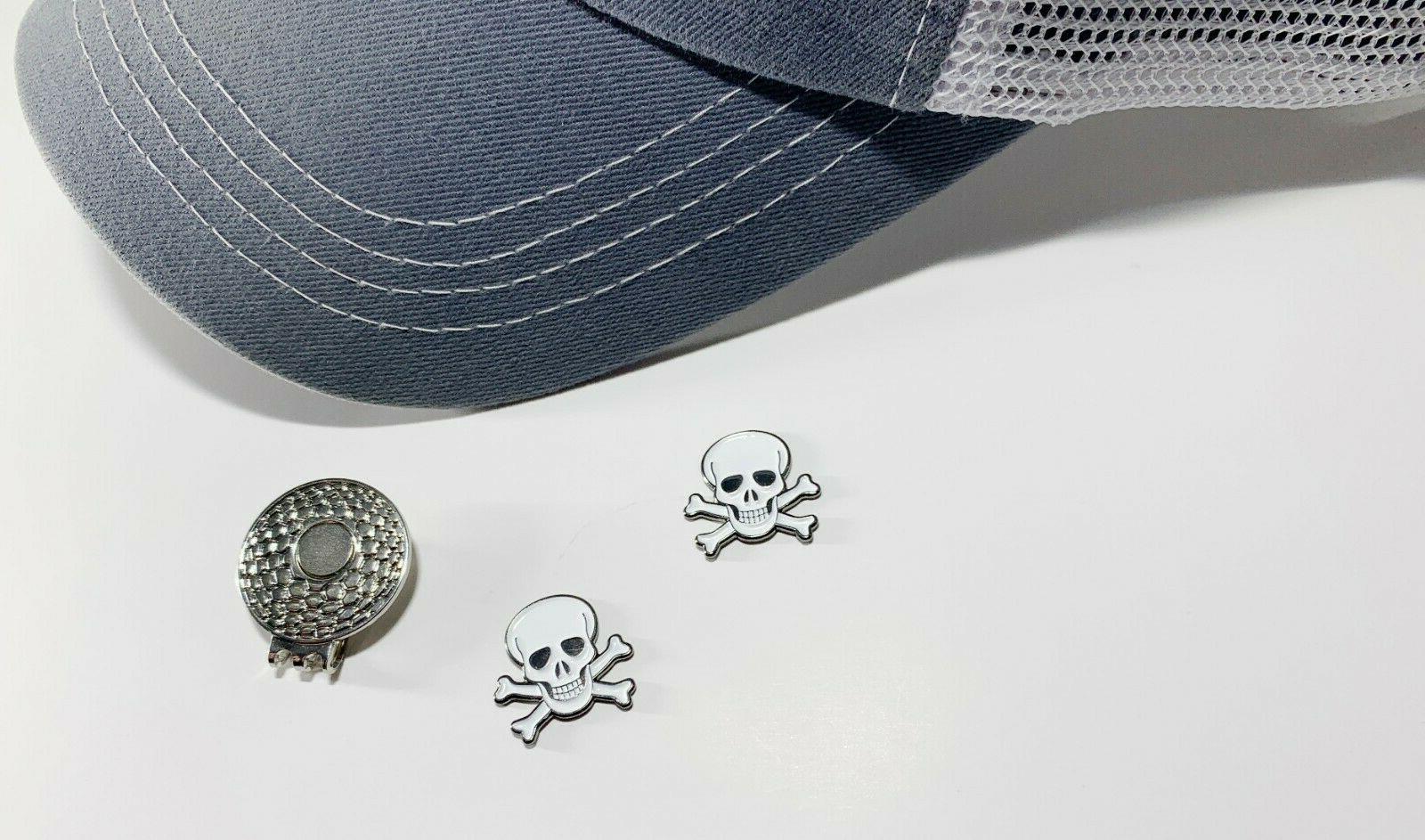 Skull Crossbones Ball Metal