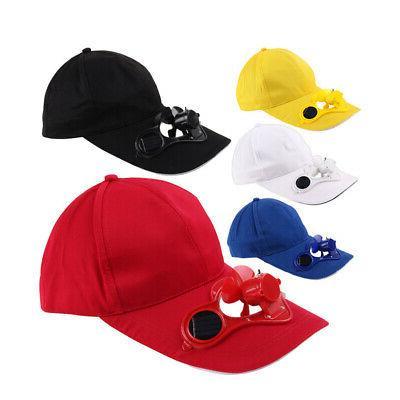 Summer Sport Hat Cap with Solar Sun Power Cool Cycling P7A5