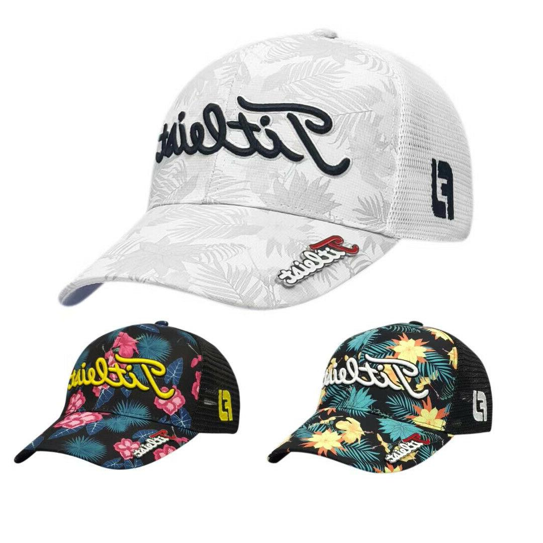 tour snapback golf hat with ball marker