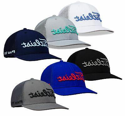tour snapback mesh golf hat mens cap