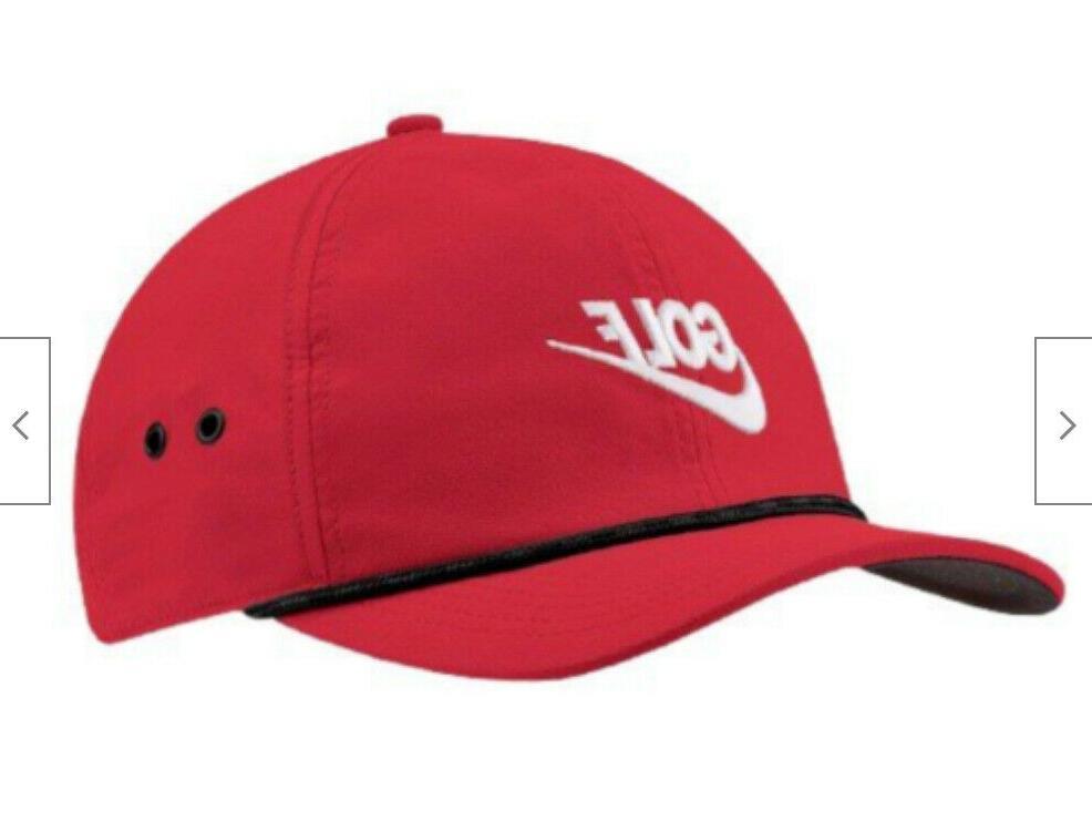 Nike Golf Aerobill Classic DRI-FIT Cap Red/White