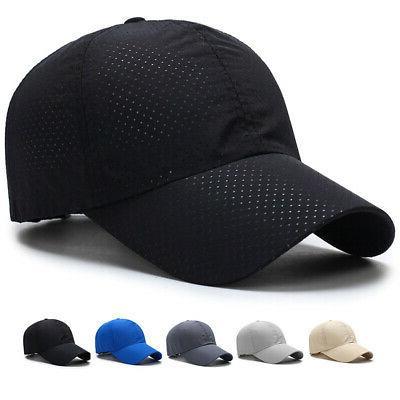 men women summer golf mesh plain hat