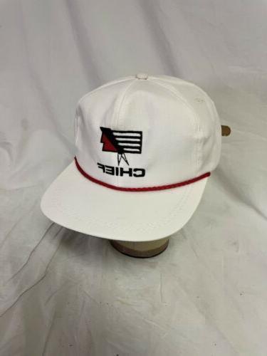 Vintage Chief Trucker Cap Adjustable