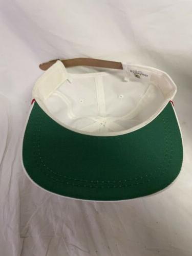 Vintage Chief Trucker Cap Hat White Adjustable Golf
