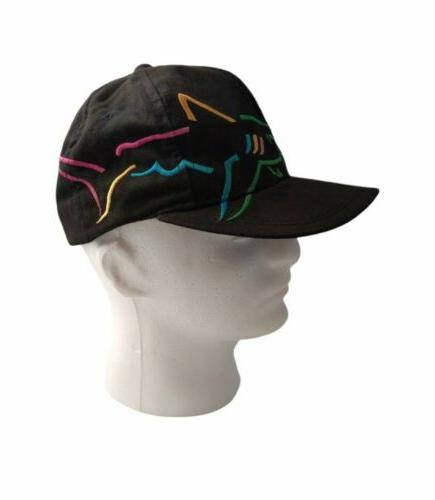 Greg Norman Strapback Golf Baseball Hat Cap Embroidered Shark