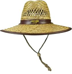 Men's Corona Extra Lifeguard Hat Straw Licensed Spring Break