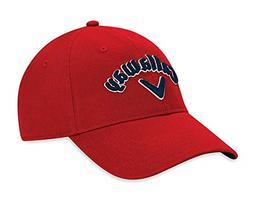 Callaway Men's Heritage Twill Hat, White/Navy/Red