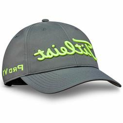 TITLEIST MEN'S TOUR PERFORMANCE ADJUSTABLE HAT CAP CHARCOAL