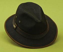mens brown fedora hat 1 xl new