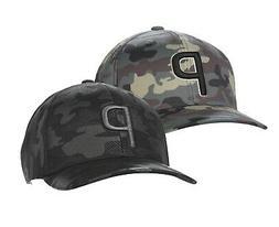 Puma Mens Camo Pattern P Snapback Cap Golf Hat 023065 - New