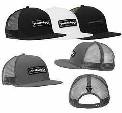 TAYLORMADE MENS LIFESTYLE TRUCKER FLATBILL HAT SNAPBACK CAP