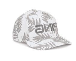 NEW 2020 Ping Tour Lite Leaf White/Grey Adjustable Golf Hat/